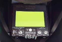 BFF AUTO DARKENING WELDING/GRINDING HELMET sensitive, 4 sensor, DIN 4-13 Hood