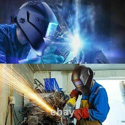 Bluefir7 Mask Solar Auto Darkening Welding/grinding Helmet certified 4 sensors