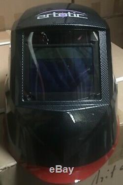 CNR900 AUTO DARKENING WELDING/GRINDING HELMET sensitive, 4 sensor, DIN 4-13 Hood