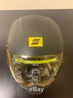 CUSTOMER RETURNED Barely Used Full Warranty ESAB Sentinel Welding Helmet