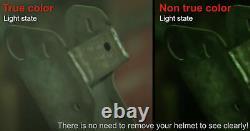 Chaos Automatic Welding Helmet Unimig True Colour Lens Mig Tig Stick Um-h-chaos