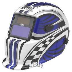Cigweld Auto Darkening Helmet Racer, Filter Lens Shade 9-13
