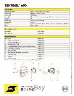 ESAB Halo Sentinel A50 Automatic Welding Helmet 0700000800