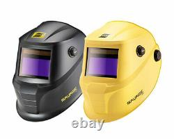 ESAB SAVAGE A40 Auto Darkening Welding Helmet 9-13 Black or Yellow
