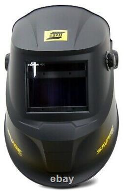 ESAB SAVAGE A40 Auto Darkening Welding Helmet TIG MIG 4 sensors True Color MASK