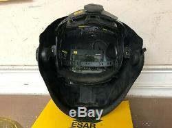 ESAB Sentinel A50 Automatic Welding Helmet + Carry Bag Manual Extra Shields Box
