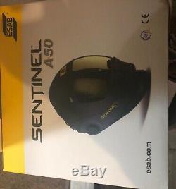 ESAB Sentinel A50 Welding Helmet (0700000800) hood brand new in box