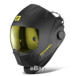 ESAB Sentinel A50 Welding Helmet & Steiner Welding Jacket (Free Glasses/Beanie)