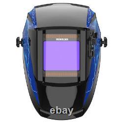 Extra large view True Color Auto darkening Welding Helmet For Weld/Grind/Cut