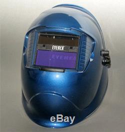 Eyerex Auto Darkening Welding Welder Helmet Mask Tig Mig Arc Rex Blue
