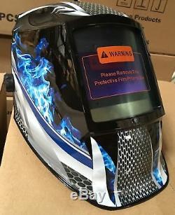 FMTD New Digital Auto Darkening Shade 5-13 Welding/Grinding Helmet with4 sensors