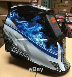 FMTP Auto Darkening Welding/Grinding Helmet Mask certified 4sensors/DIN 5-13