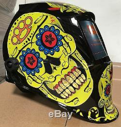 FSK certified mask Auto Darkening Welding Helmet+Grinding cheater-lens-ready