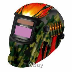GLBD ProSolar Auto Darkening Welding Helmet Arc Tig Mig Mask Grinding Welder