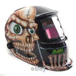 Helmet Auto Darkening 4- Arc Sensors Miller Mask Face Hood Safety Skull By Audew