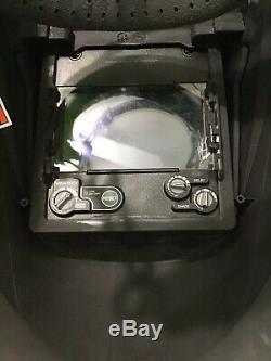 Hobart 32455 Pro Series Auto Darkening Welding Helmet With Grind Mode # 770765