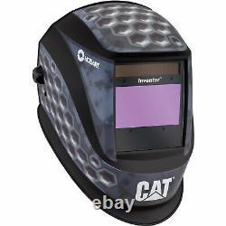 Hobart Inventor Series Auto-Darkening Welding Helmet with Grind Mode CAT Pattern