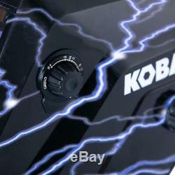 Hydrographic Welding Helmet Auto Darkening Filter Kobalt Variable Shade Black