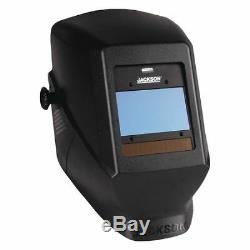 JACKSON SAFETY 46129 Insight Vari AutoDark Welding Helmet, HSL100 Black