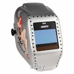 JACKSON SAFETY 46130 Insight Vari AutoDark Welding Helmet, HaloX ArcAngel