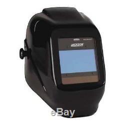 JACKSON SAFETY 46131 Insight Vari AutoDark Welding Helmet, HaloX Black