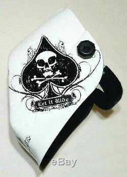 JACKSON TRUESIGHT WH60 HALOX Auto Darkening Welding Helmet ACE OF SPADES 30317