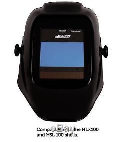 Jackson Safety 46131 Insight Variable Auto Darkening Welding Helmet, HaloX, ADF