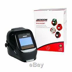Jackson Safety 46131 Insight Variable Auto Darkening Welding Helmet, HaloX, Blac