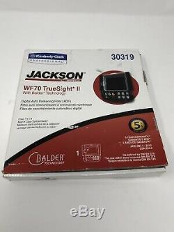Jackson Safety 46158 WF70 TRUESIGHT II welding HOOD auto darkening ADF Balder