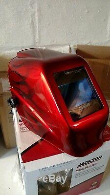 Jackson Safety FLAMES HALOX NEXGEN w60 welding helmet HOOD auto darkening