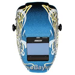 Jackson Safety Insight Variable Auto Darkening Welding Helmet, HaloX 46100, Gold