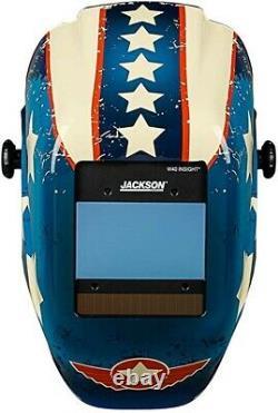 Jackson Safety Insight Variable Shade Auto Darkening Welding Helmet Mask 46101