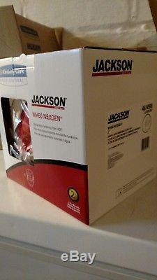 Jackson Safety RED FLAMES HALOX NEXGEN w60 welding helmet HOOD auto darkening