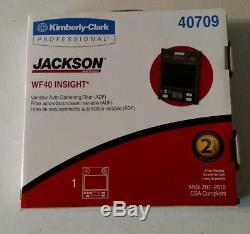 Jackson Safety W40 Insight Variable Auto Darkening Welding filter lens NEW