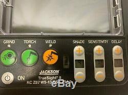 Jackson W70 True Sight II KC Z87 W9-13 CSA Z94.3 Digial Auto Darkening lens