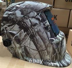 KRK Auto Darkening Welding/grinding Helmet with sensitive & delay time control