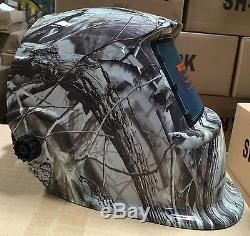 KRK Solar Auto Darkening Welding Helmet Arc Tig Mig Mask Grinding Hood@