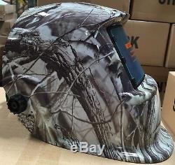 KRK@ Solar Auto Darkening Welding Helmet Arc Tig mig certified hood grinding