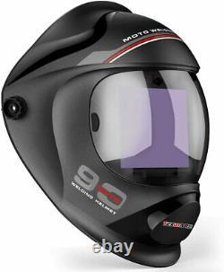Large True Colour Solar Powered Auto Darkening Welding Helmet