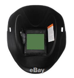 Large View Screen Pro Solar Auto Darkening Weld Mask Welding Helmet ARC TIG MIG