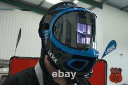 Laser Tools 7927 Auto Darkening Welding Helmet with Respirator