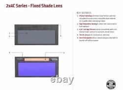 Lincoln Electric 2X4 C-Series Auto-Darkening Welding Lens Shade 11 KP3779-1