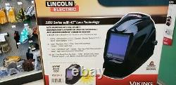 Lincoln Electric 3350 Series Black Helmet with4C Lens Technology, K3034-3