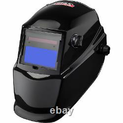 Lincoln Electric Auto-Darkening Welding Helmet with Grind Mode Glossy Black
