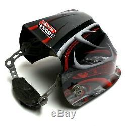 Lincoln Electric K3248-4 3350 Auto Darkening Viking Twisted Metal Welding Helmet