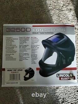 Lincoln Electric K3540-3 Viking 3250D FGS Auto Darkening Welding Helmet Black