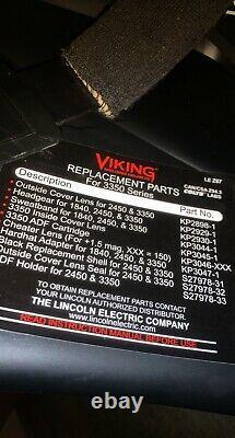 Lincoln Electric VIKING 3350 Auto Darkening Welding Helmet Foose Imposter