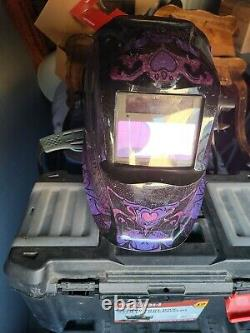 Lincoln Electric Viking 1840 Welding Helmet With 4C Lens Technology Black/Purp