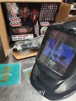 Lincoln Electric Viking Welding Helmet- 2450 Series- Pre-Owned with Very Light Use