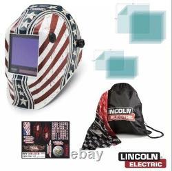 Lincoln K3683-4 Viking 3350 Daredevil Welding Helmet